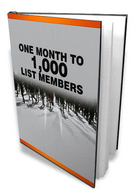 Product picture 1 Month To 1000 List Members